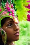 Carnaval van de Heuvel van Notting in West-Londen, het UK royalty-vrije stock foto's