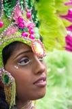 Carnaval van de Heuvel van Notting in West-Londen, het UK Stock Foto