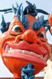 Carnaval van het papier-maché draak Royalty-vrije Stock Afbeelding