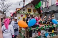 Carnaval van kinderen in Nederland Stock Foto's