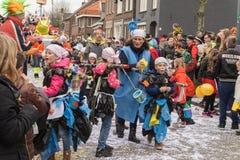 Carnaval van kinderen in Nederland Stock Fotografie