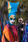 Carnaval van Nice Stock Foto's