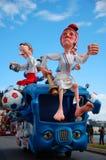 Carnaval van Nice op 21 Februari, 2012, Frankrijk Royalty-vrije Stock Fotografie