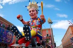 Carnaval van Nice op 21 Februari, 2012, Frankrijk Royalty-vrije Stock Afbeelding