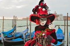Carnaval van Venetië Stock Foto
