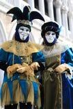 Carnaval van Venetië Stock Fotografie