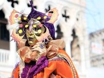 Carnaval van Venetië Stock Afbeeldingen
