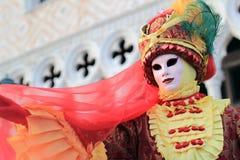 Carnaval van Venetië Stock Foto's