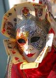 Carnaval van Venetië stock illustratie