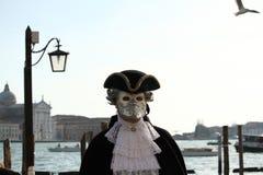 Carnaval van Venetië - Venetiaanse Maskerade stock foto