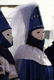 Carnaval van Venetië - Venetiaanse Maskerade stock foto's