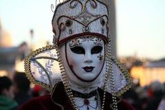 Carnaval van Venetië - Venetiaanse Maskerade royalty-vrije stock fotografie