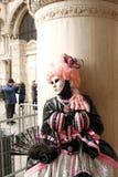 Carnaval van Venetië - Venetiaanse Maskerade royalty-vrije stock foto's