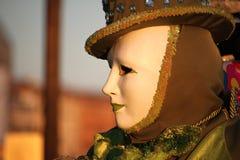 Carnaval van Venetië - Venetiaanse Maskerade stock afbeelding
