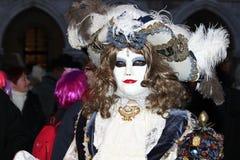 Carnaval van Venetië - Venetiaanse Maskerade stock fotografie