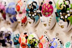 Carnaval van Ventian maskers Royalty-vrije Stock Foto's