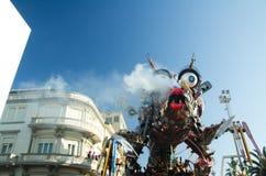 Carnaval van Viareggio 2011, Italië Royalty-vrije Stock Afbeeldingen