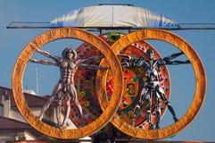 Carnaval van Viareggio 2011, Italië Stock Foto