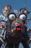 Carnaval van Viareggio 2011, Italië Stock Afbeelding