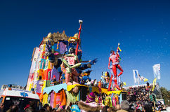 Carnaval van Viareggio 2011, Italië Stock Afbeeldingen