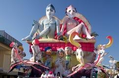 Carnaval van Viareggio 2011, Italië Royalty-vrije Stock Fotografie