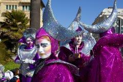 Carnaval van Viareggio Royalty-vrije Stock Foto's