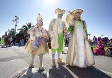 Carnaval van Viareggio Stock Afbeelding