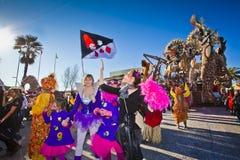 Carnaval van Viareggio Royalty-vrije Stock Fotografie
