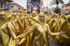 Carnaval van Viareggio Stock Fotografie