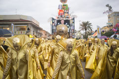 Carnaval van Viareggio Stock Foto