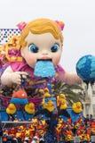 Carnaval 2016 van Viareggio Stock Fotografie