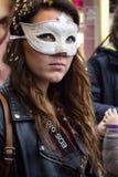 Carnaval 2016 van Viareggio Stock Afbeelding