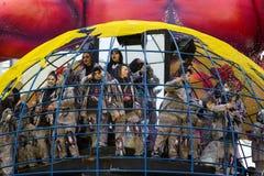 Carnaval 2016 van Viareggio Royalty-vrije Stock Afbeelding