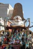 Carnaval van Viareggio Royalty-vrije Stock Afbeeldingen