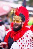 Carnaval van Viareggio, de uitgave van 2019 stock afbeelding