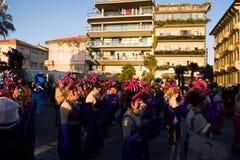 Carnaval van Viareggio, de uitgave van 2019 royalty-vrije stock foto