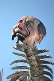 Carnaval van Viareggio grote berlusconi Stock Foto's