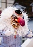 Carnaval van Waggis masker   Stock Afbeeldingen