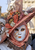 Carnaval Venecia, máscara Fotos de archivo libres de regalías