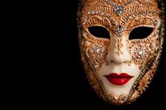 Carnaval in Venetië Stock Foto