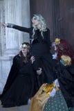 Carnaval Venetië Stock Fotografie