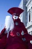 Carnaval Venetië stock foto