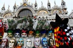 Carnaval in Venetië, Italië Stock Foto