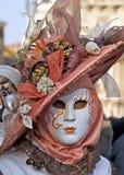 Carnaval Venetië, Masker Royalty-vrije Stock Foto's