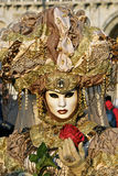 Carnaval Venetië, Masker Royalty-vrije Stock Afbeelding