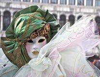 Carnaval Veneza, máscara Imagens de Stock
