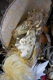Carnaval Venise, masque Photographie stock libre de droits