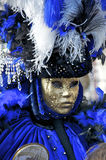 Carnaval Venise, masque Photo stock