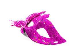 Carnaval-verfraaid masker Stock Foto