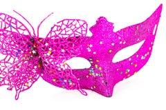 Carnaval-verfraaid masker Stock Afbeeldingen